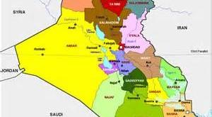 خريطة عراق