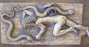 Fig.+5.3.+Gilgamesh+sleeps+while+the+snake+steals+the+secret+flower+of+Eternity