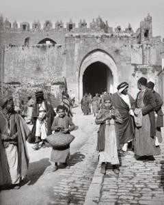 Damascus-gate-Jerusalem.-Late-Ottoman-era-ca.-1900.