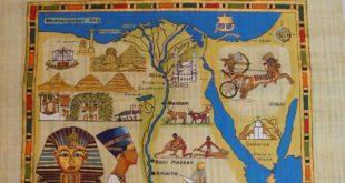 خريطة مصر الفرعونية (1)