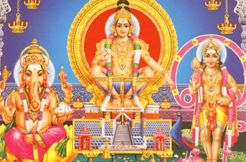 522411732016_godong-picture-of-hindu-gods-ganesh-ayappa-and-subramania-india-asia