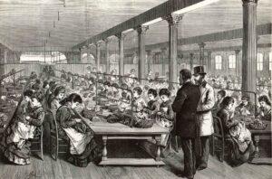sewing-room-at-stewart-1875-grafton-compressor